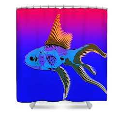 Shower Curtain featuring the photograph Fish by James Bethanis
