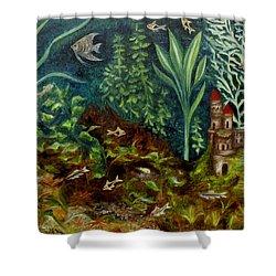 Fish Kingdom Shower Curtain