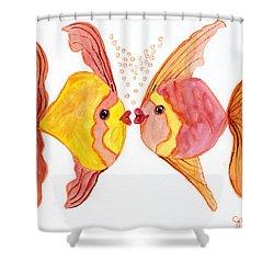Fish Love Shower Curtain