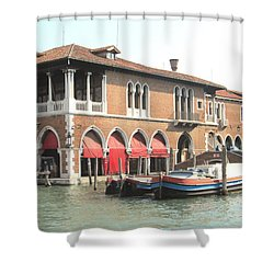Fish Market Venise Shower Curtain