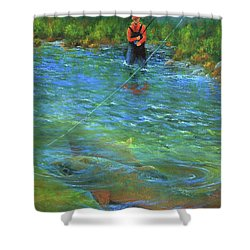 Fish Story Shower Curtain