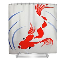 Fish Swish Shower Curtain