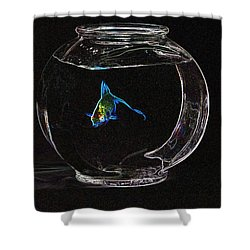 Fishbowl Shower Curtain