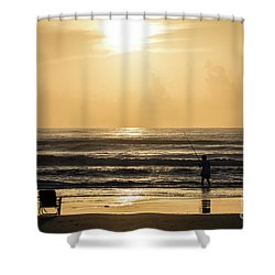 Fisherman Shower Curtain