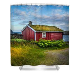 Fisherman House Shower Curtain
