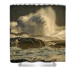 Fisherman Splash Shower Curtain