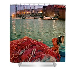 Fisherman's Net Shower Curtain