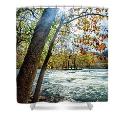 Fisherman's Paradise Shower Curtain