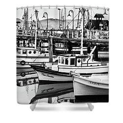 Fishermans Wharf Shower Curtain