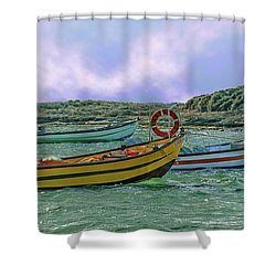 Fishermen's Wharf Shower Curtain