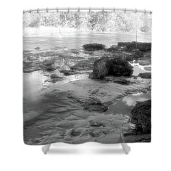 Fishermen Shower Curtain by Beto Machado