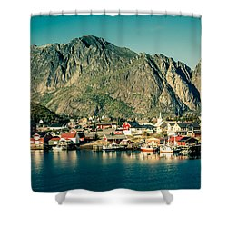 Fishermen Have Gone Shower Curtain