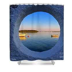 Fishermen Village- Italy Shower Curtain
