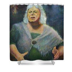 Fisherwoman Shower Curtain