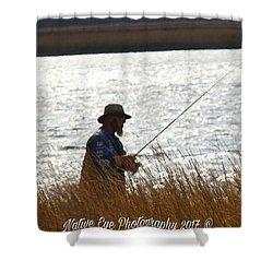 Fishin Shower Curtain