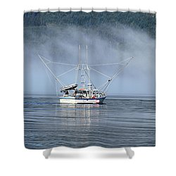 Fishing In Alaska Shower Curtain