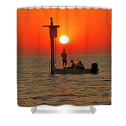 Fishing In Lacombe Louisiana Shower Curtain