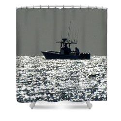 Fishing In Sanibel Shower Curtain