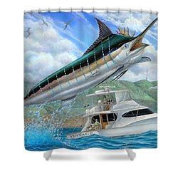 Fishing In The Vintage Shower Curtain