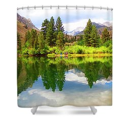 Fishing Intake 2 Shower Curtain