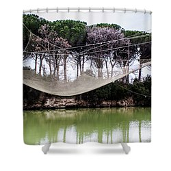 Fishing Net Shower Curtain