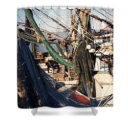 Fishing Nets Shower Curtain