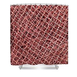 Fishing Nets Shower Curtain by Gaspar Avila