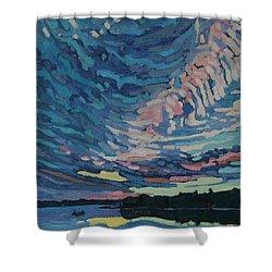 Fishing Sunset Shower Curtain