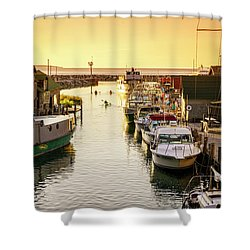Shower Curtain featuring the photograph Fishtown by Alexey Stiop