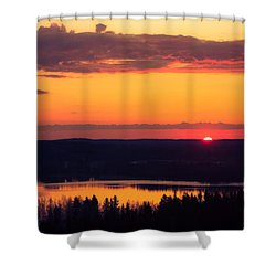 Fissio Ver2 Shower Curtain