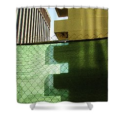 Fitting Shower Curtain