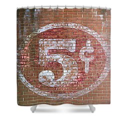 Shower Curtain featuring the photograph Five Cents by Art Block Collections