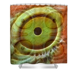 Five Eyes Shower Curtain
