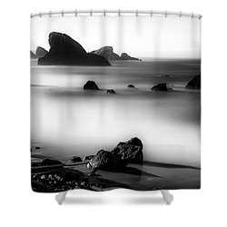 Five Minutes Of Serenity Shower Curtain
