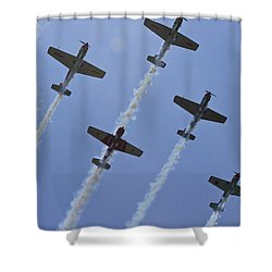 Shower Curtain featuring the photograph Five Out Of Six by Miroslava Jurcik