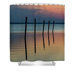 Five Strong Shower Curtain