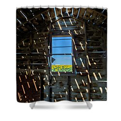 Fixer Upper With A View Shower Curtain