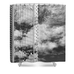 Fla-150531-nd800e-25123-bw Shower Curtain by Fernando Lopez Arbarello