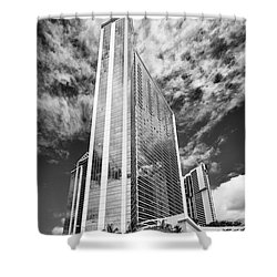 Fla-150531-nd800e-25126pa31-bw Shower Curtain