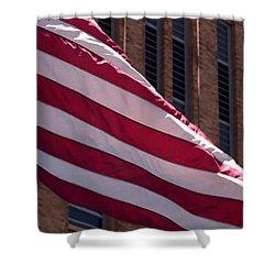 Flag Courtship Shower Curtain