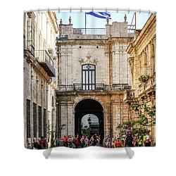 Flag Of Cuba Shower Curtain