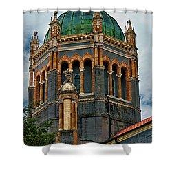 Flagler Memorial Presbyterian Church 3 Shower Curtain by Christopher Holmes