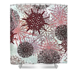 Flakes Love Shower Curtain