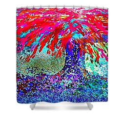 Flamboyan Shower Curtain