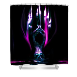 Flame Dance Shower Curtain