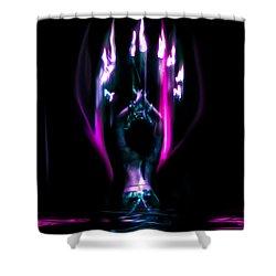 Shower Curtain featuring the photograph Flame Dance by Glenn Feron