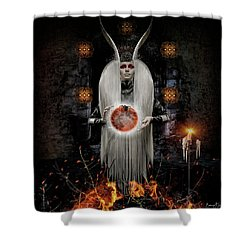 Flame Magick Shower Curtain