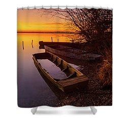 Flame Of Dawn Shower Curtain