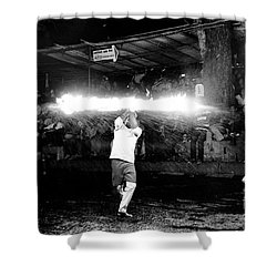 Flame Of Life Shower Curtain