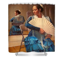Flamenco 1 Shower Curtain by Donelli  DiMaria